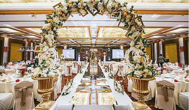 婚礼当天婚宴的细节准备【二】