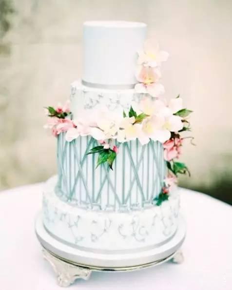 这些绝美的婚礼蛋糕,不结婚也想要!