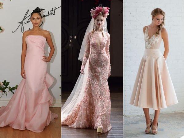 彩色婚纱礼服,让你一见倾心!