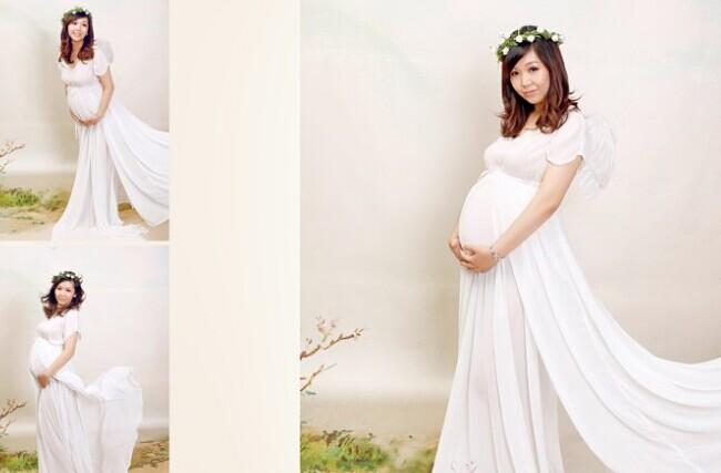 怀孕准新人穿什么婚纱 婚礼猫为你推荐的孕妇婚纱 婚礼猫