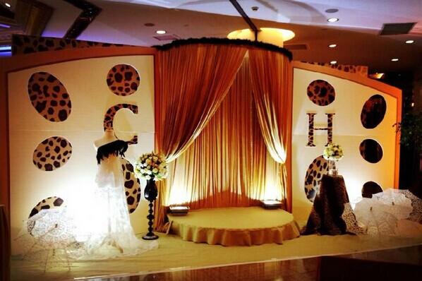 豹纹主题婚礼 性感豹纹潮爆婚礼现场