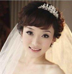 专属新娘发型  特色新娘发式