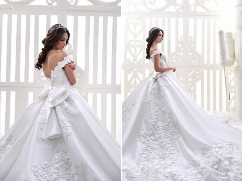 绝对精妙绝伦!34件经典手工刺绣婚纱欣赏