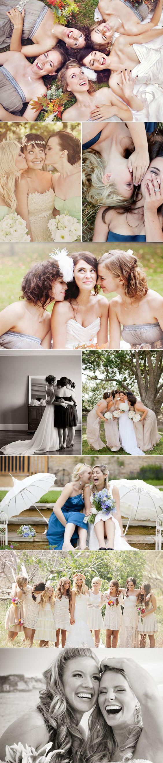 如果要和闺蜜拍一套婚纱照...