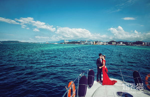 游艇婚纱照好不好看?深圳游艇婚纱照图片欣赏
