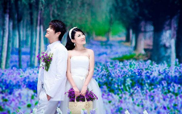 夏季拍婚纱照,你的妆容还好吗?广州婚纱摄影