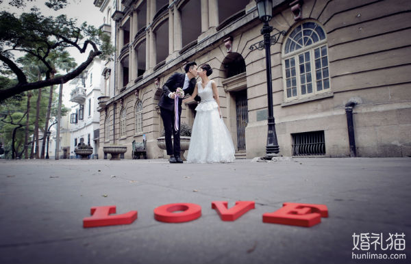 广州婚纱摄影景点攻略:最具异国风情的沙面