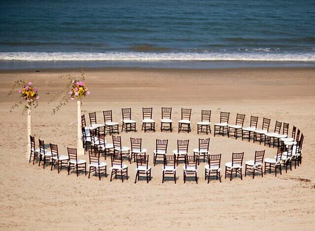 户外婚礼仪式 婚宴网推荐的婚礼坐席安排