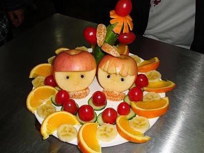 水果主题婚礼 特别的婚礼给特别的你