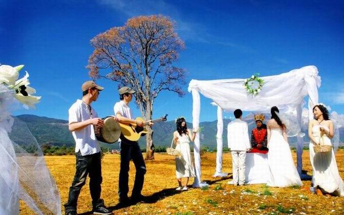 年轻新人最喜爱的婚礼出场方式  给婚礼一个小惊喜