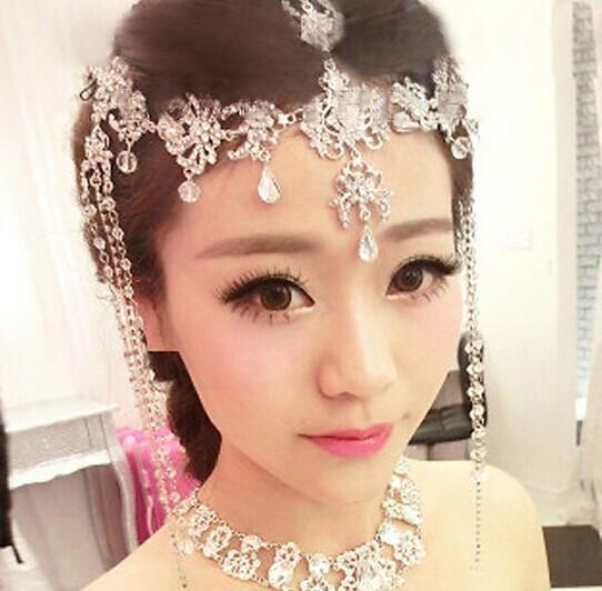 甜美系列新娘妆容的化妆技巧