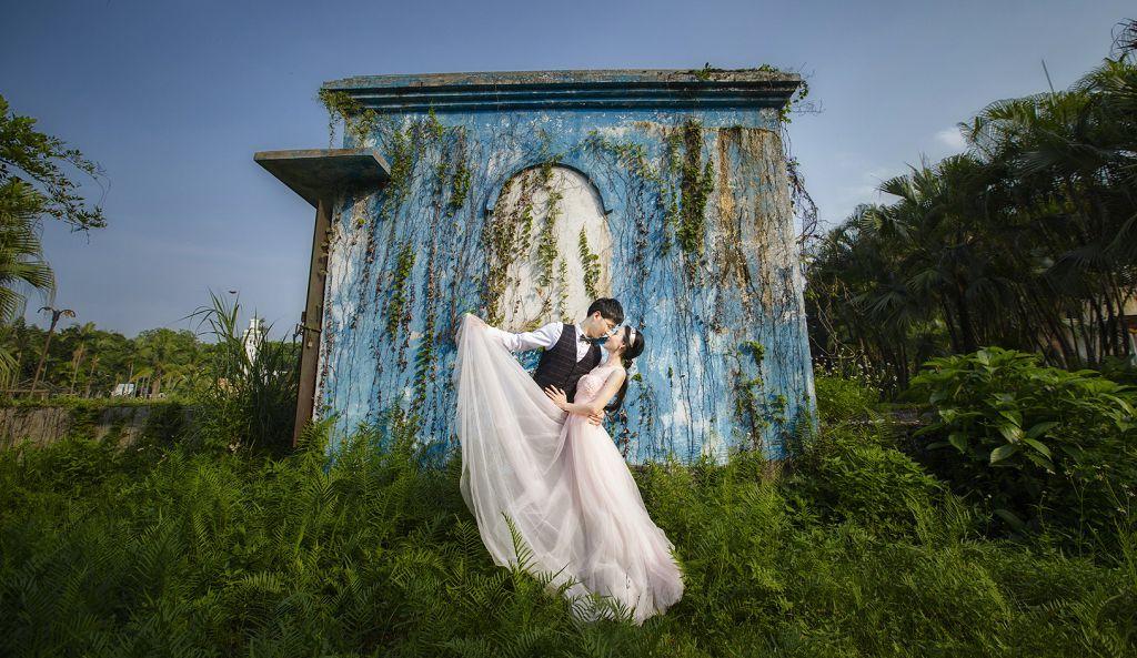 四大最受欢迎婚纱摄影风格