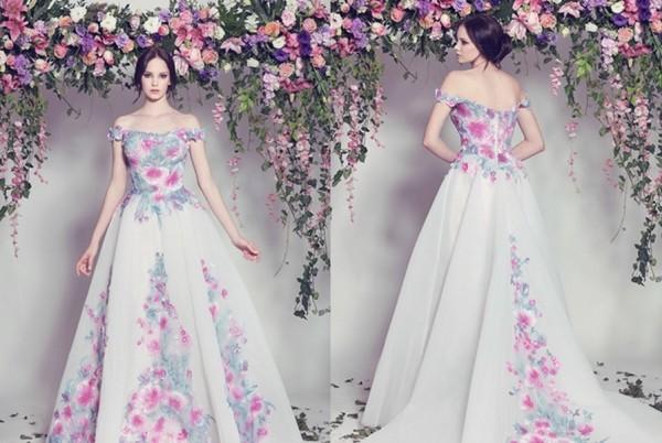 春夏季婚纱礼服,打造你专属的花仙子嫁衣