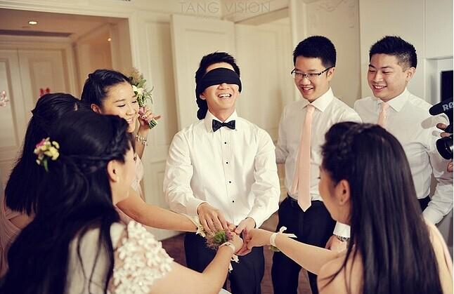 婚礼猫教你婚礼游戏34招 闹洞房有高招