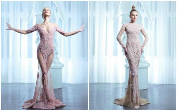 如此奇特大胆的婚纱礼服,你敢要吗?