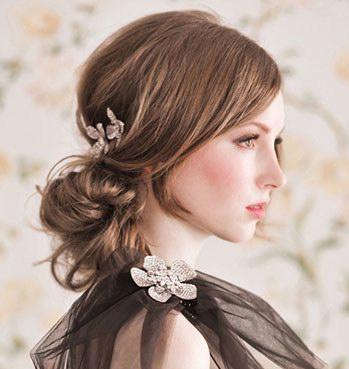 欧美新娘发型 国际范新娘