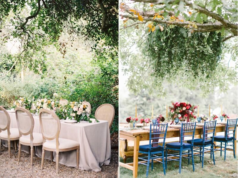 小型婚礼婚宴餐桌布置