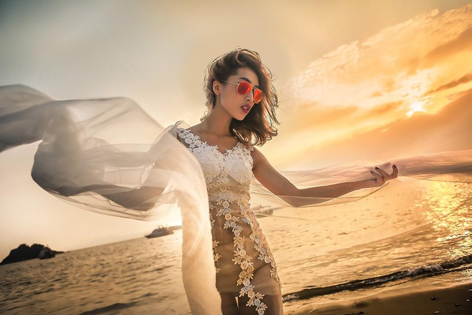 创意婚纱照姿势,根据婚纱照的风格来进行