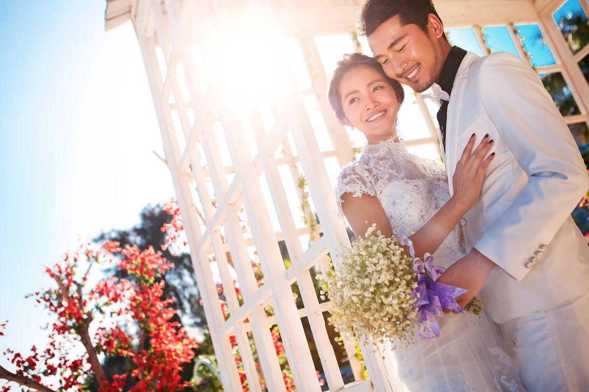 韩式婚纱照室内风格有哪些