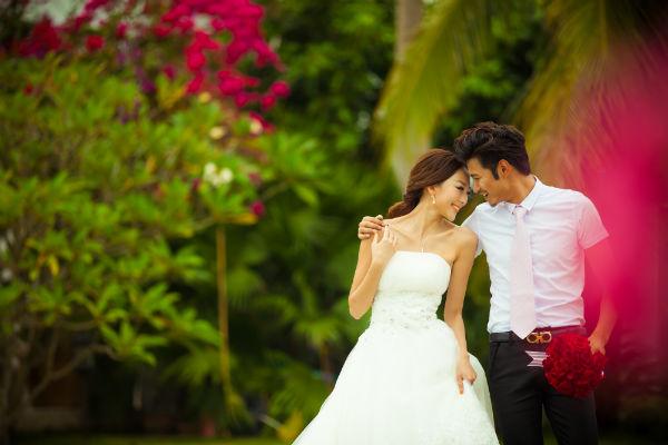 三亚婚纱照新娘婚纱挑选三原则