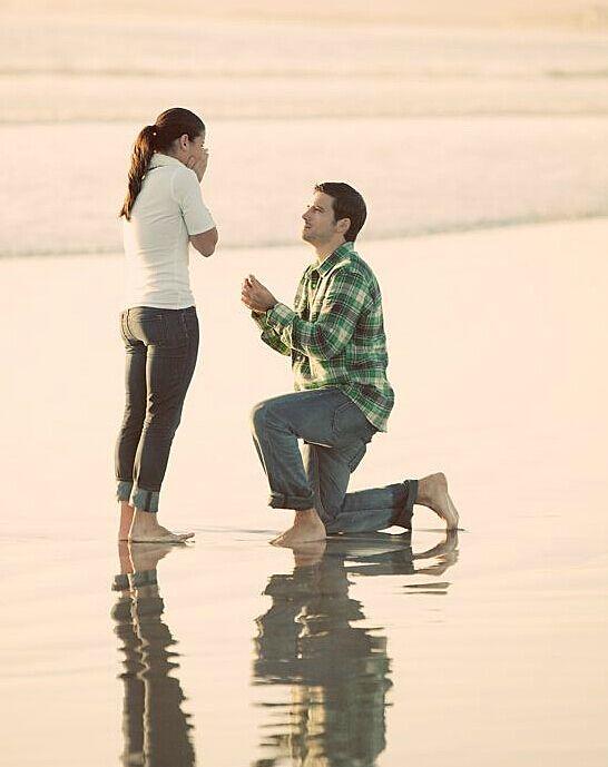 求婚的最好时机 别错过了心仪的她