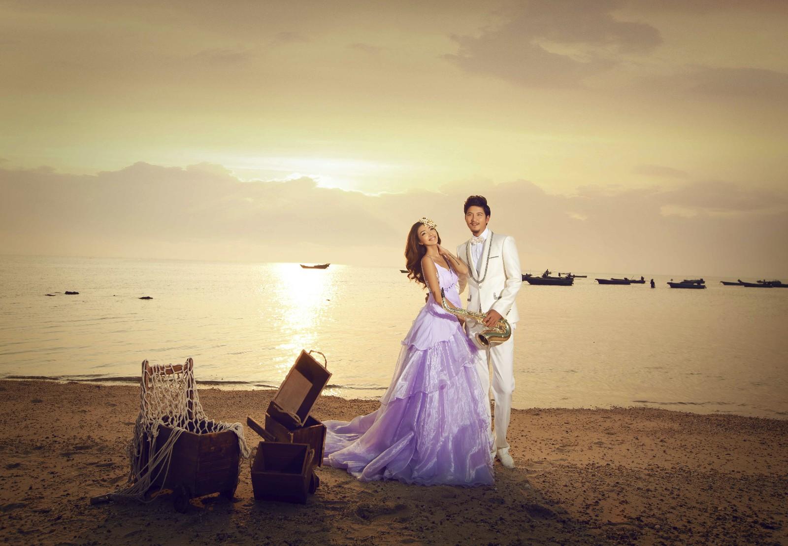 选择昆明婚纱照最好的外景,完成美好的昆明之旅