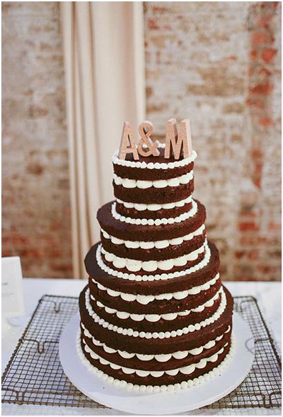 婚礼蛋糕 20款不同造型的裸蛋糕