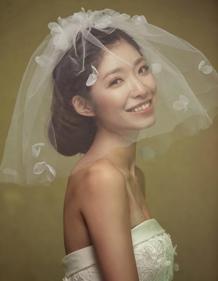 新娘头纱 多样婚礼头纱唯美展现