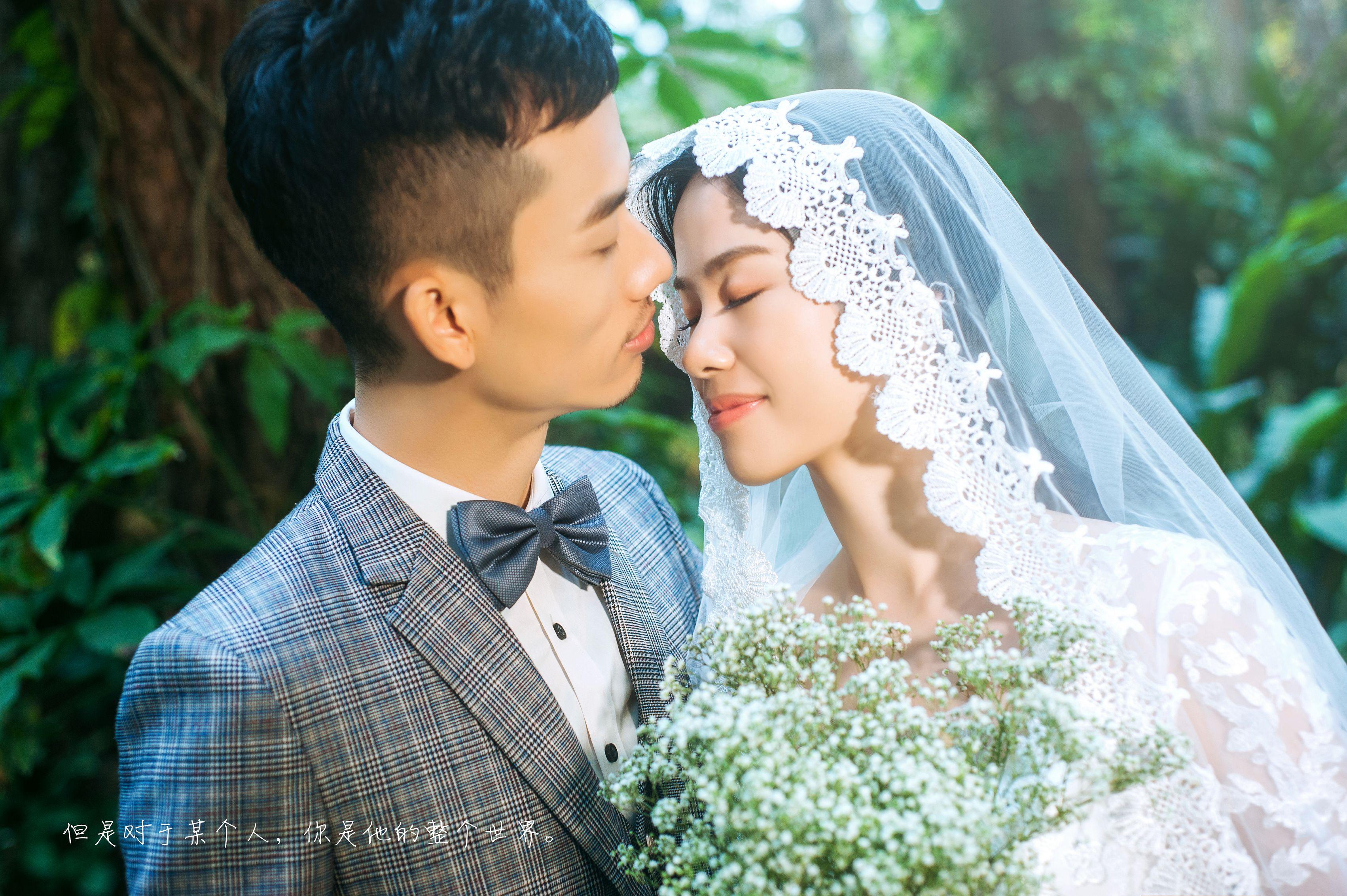 2018流行的八种婚纱照风格 看完想结婚了