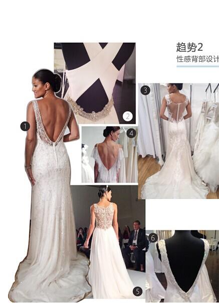 2015年秋冬婚纱流行趋势 婚礼猫分享婚纱美图