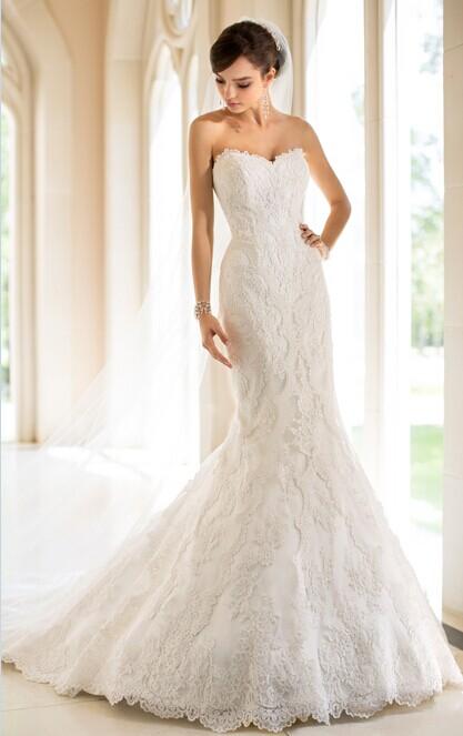 婚礼猫教你如何挑选婚纱 选婚纱要注意的细节部位