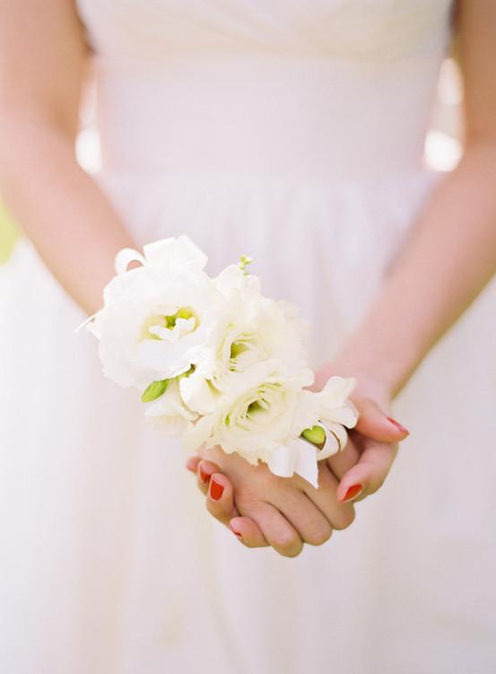 婚礼手腕花戴法大解析