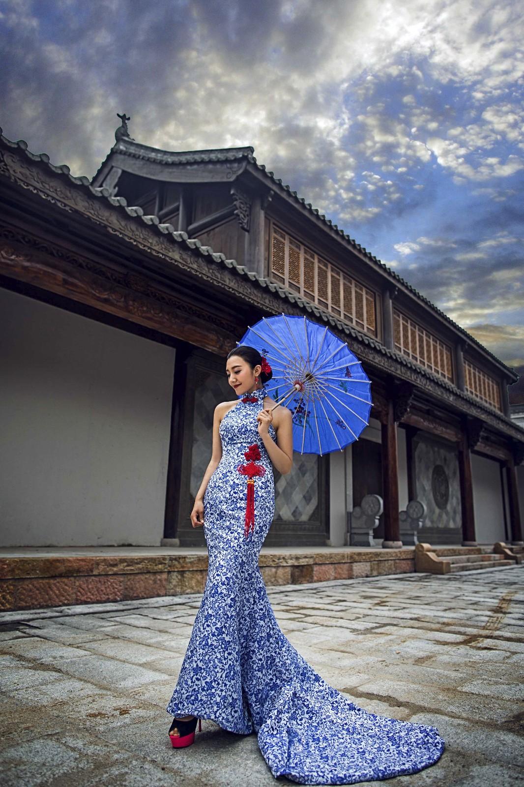 古装婚纱照这样拍更受大众欢迎