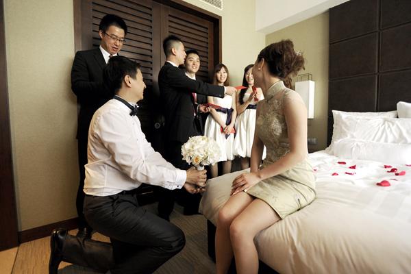 婚礼游戏注意事项 新人不看会后悔哦