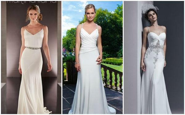 梦幻般的新娘礼服,海滩婚礼必不可少的元素