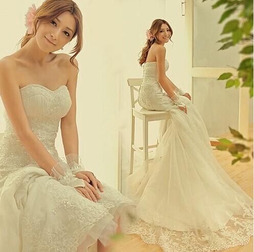 新人怎么选婚纱  选购婚纱的15个技巧