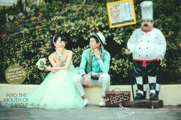 拍摄三亚婚纱照怎么笑才好看自然?