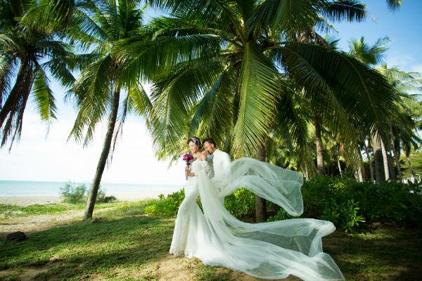 三亚婚纱摄影,四大海湾拍摄攻略