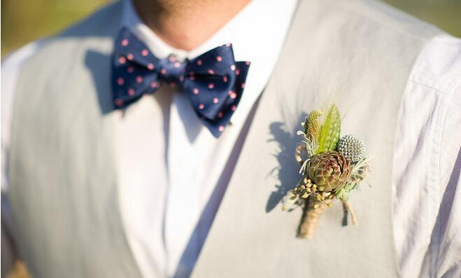 教你轻松打造清新的多肉婚礼!
