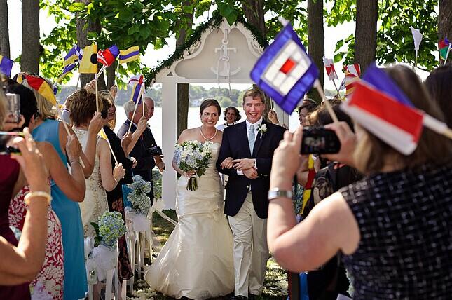 在婚礼中互动的环节