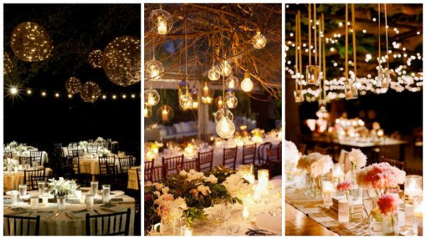 再来一波创意婚礼照明,千万别尖叫哦!
