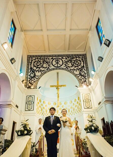 婚礼猫婚宴网 教你教堂婚礼的流程
