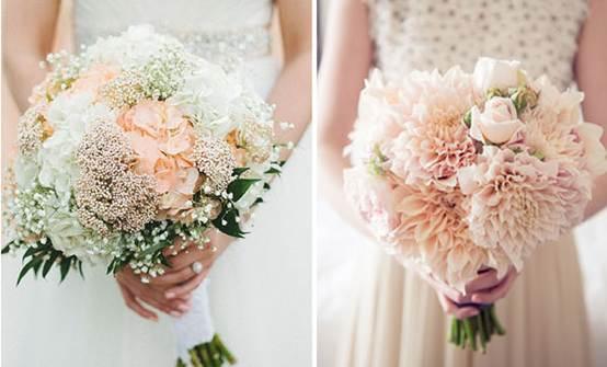 一起来欣赏一下美美的婚礼捧花吧