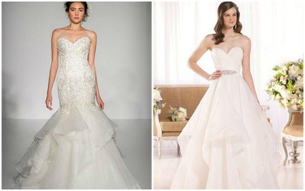 婚纱裙摆原来如此梦幻!那些被你忽略的美