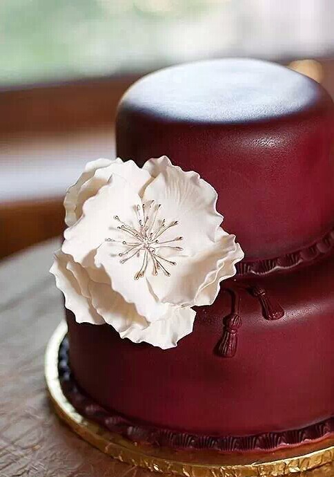2015年最潮的婚礼颜色 Marsala姨妈色引领时尚 婚礼猫