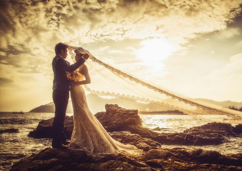 如何选出满意婚纱照片