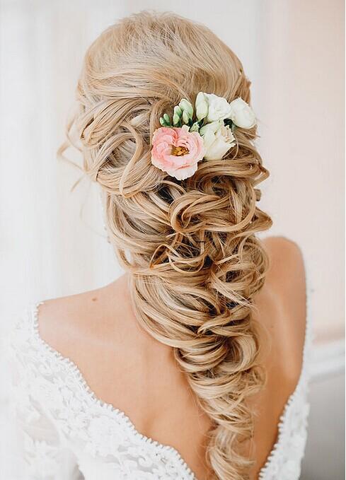 时尚新娘 唯美盘发新娘发型