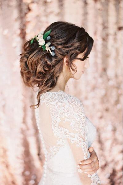 优雅新娘盘发,长发只为此刻!