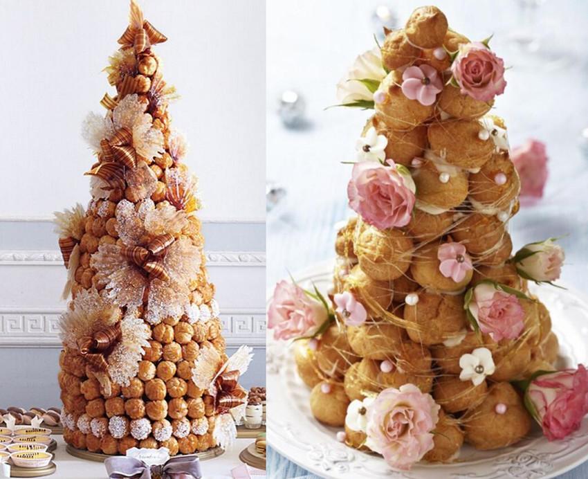 婚礼上的大蛋糕太单一,这些高颜值的甜品让你婚礼逼格更高