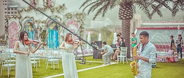 婚礼不同时刻可播放的浪漫婚礼音乐